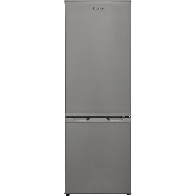 Lec 70/30 Fridge Freezer - Silver - A+ Rated