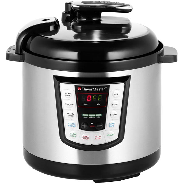 Thane 6 Litre Multi Cooker - Silver