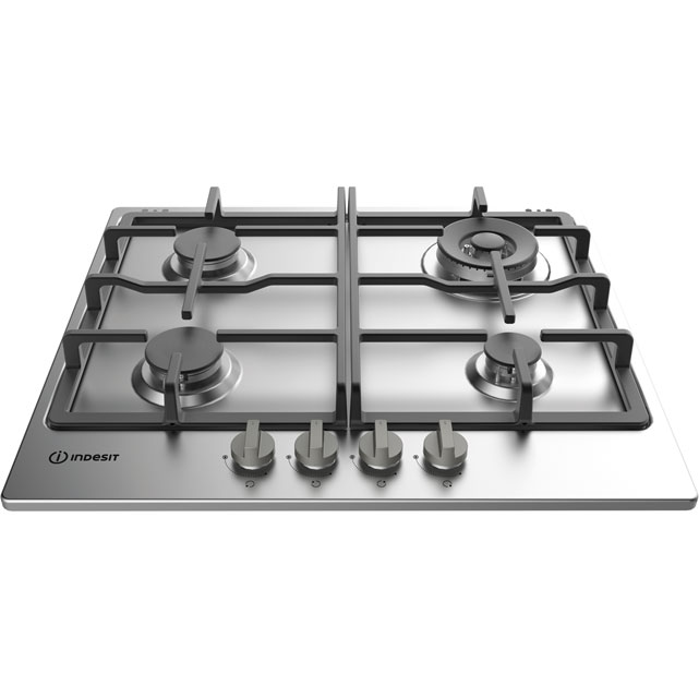 Indesit Aria 59cm Gas Hob - Stainless Steel