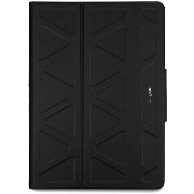 "Targus Pro-Tek Rotating Universal Tablet Case for 10"" Tablet - Black - THZ665GL - 1"