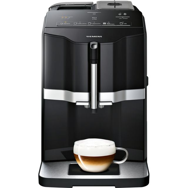 Siemens EQ3 TI301209RW Bean to Cup Coffee Machine - Black - TI301209RW_BK - 1