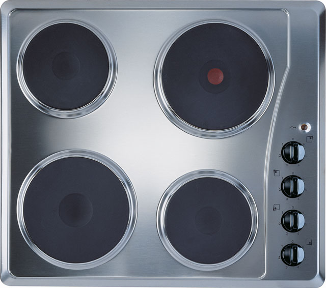 Indesit TI60X Integrated Electric Hob in Stainless Steel