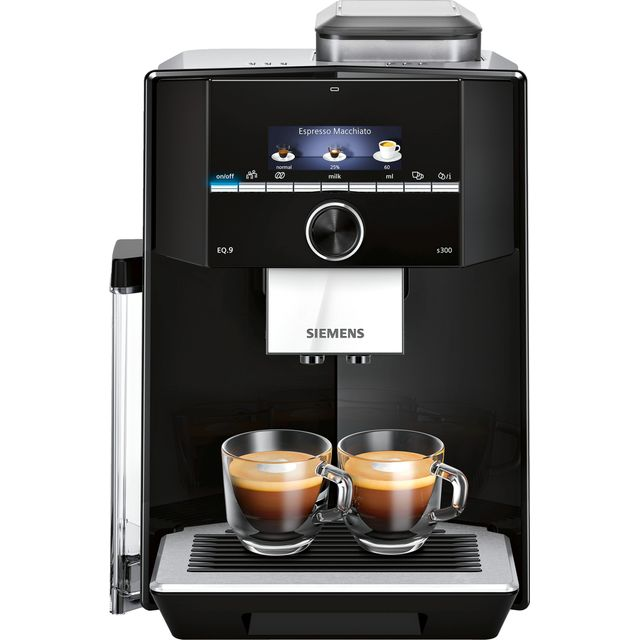 Siemens EQ9 TI923309RW Bean to Cup Coffee Machine - Black - TI923309RW_BK - 1