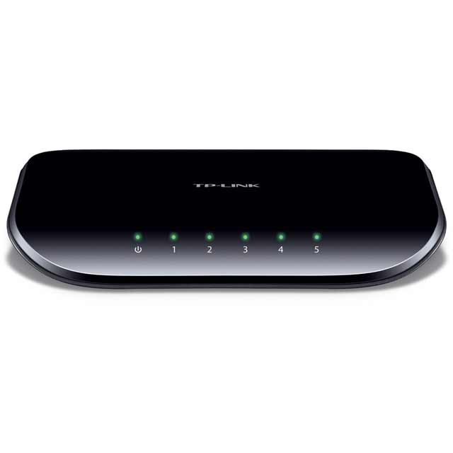 TP Link TL-SG1005D V6 TL-SG1005D V6 Routers & Networking in Black