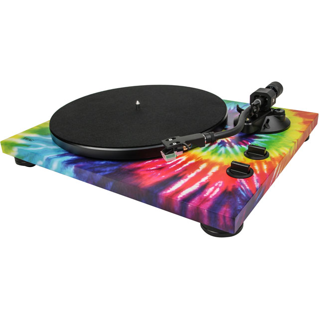 TEAC TN-420-TD Turntable in Tie-Dye
