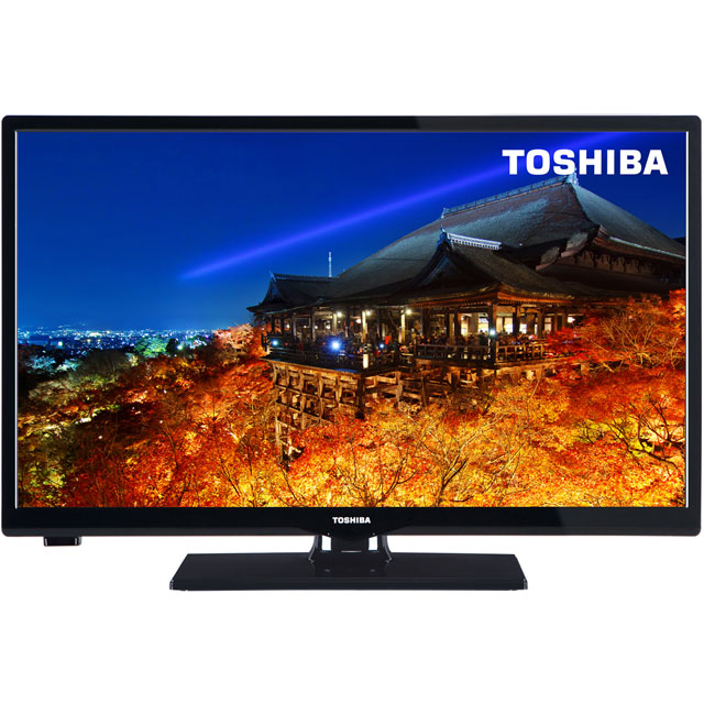 Toshiba 24D1633DB Led Tv in Black