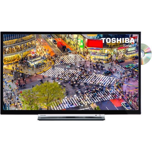 Toshiba 24D3753DB 24'' 720p HD Ready Black LED TV