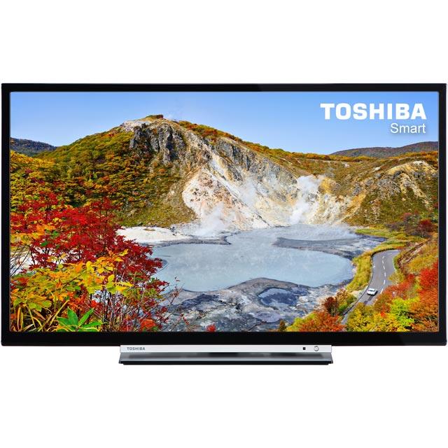 Toshiba 24W3753DB Led Tv in Black