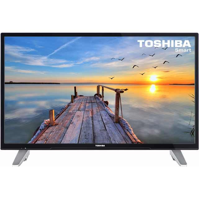 Toshiba 32D3653DB 32'' 720p HD Ready Black / Silver LED TV