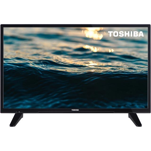 Toshiba 32W1633DB Led Tv in Black