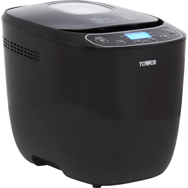 Tower T11003 Bread Maker with 12 programmes - Black