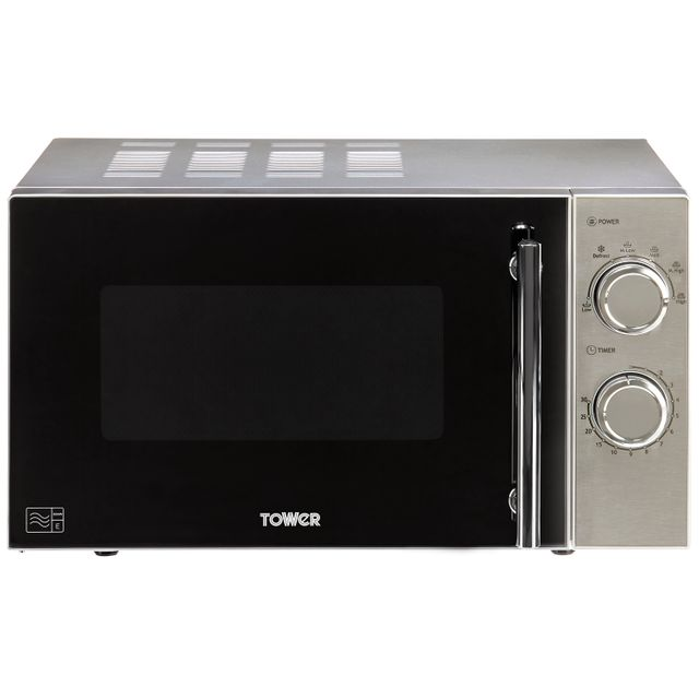 Tower T24015S 20 Litre Microwave - Silver