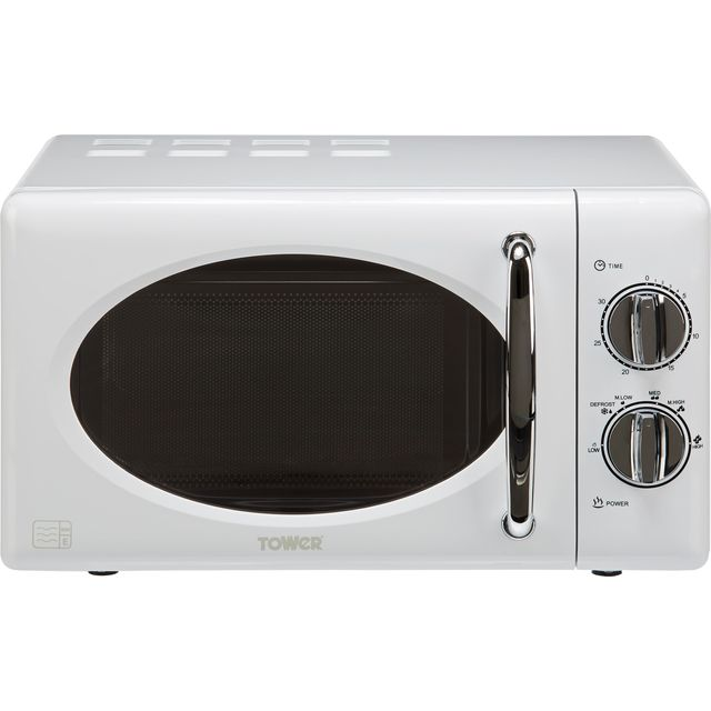 Tower T24017 20 Litre Microwave - White - T24017_SI - 1