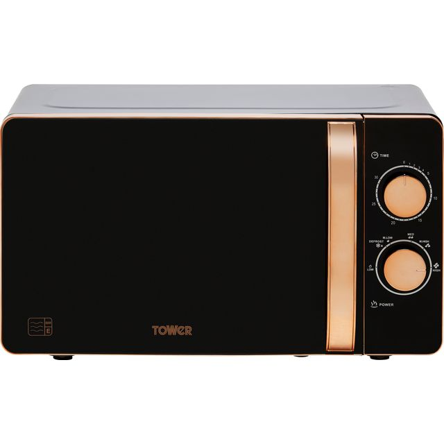Tower T24020 20 Litre Microwave - Black - T24020_BK - 1