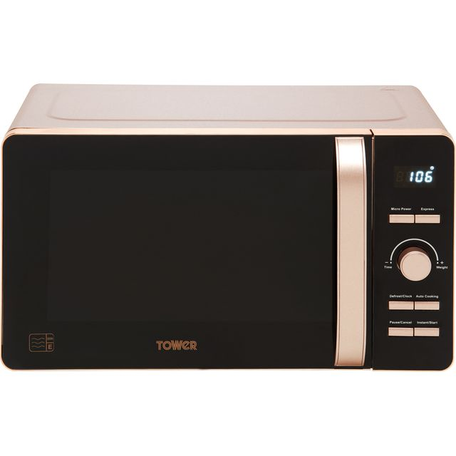 Tower T24021PS 20 Litre Microwave - Pink - T24021PS_PK - 1