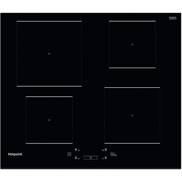 Hotpoint TQ4160SBF Built In Induction Hob - Black - TQ4160SBF_BK - 1