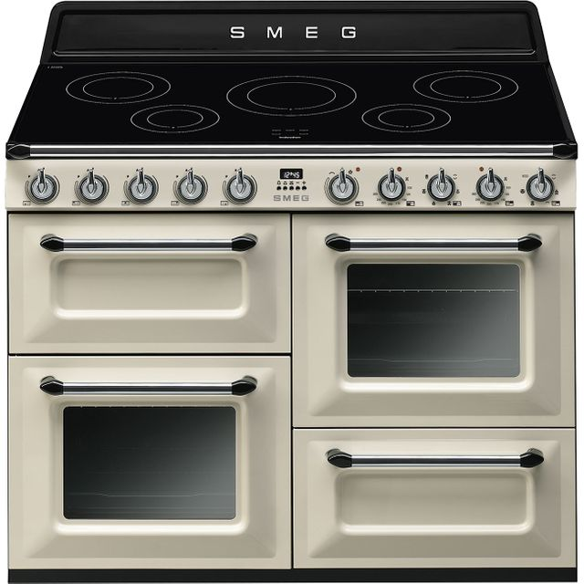 Smeg Victoria TR4110IP 110cm Electric Range Cooker with Induction Hob - Cream - A/A Rated