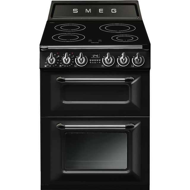 Smeg Victoria TR62IBL Electric Cooker with Induction Hob