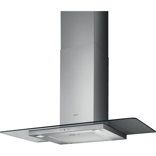 Elica TRIBE-70 70 cm Chimney Cooker Hood - Stainless Steel / Glass - B Rated - TRIBE-70_SSG - 1