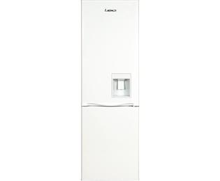 LEC TS55174WTD 174x55cm Static Freestanding Fridge Freezer With Water Dispenser - White