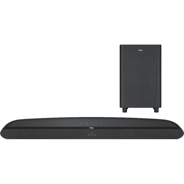 Image of TCL TS6110 Bluetooth 2.1 Soundbar with Wireless Subwoofer - Black