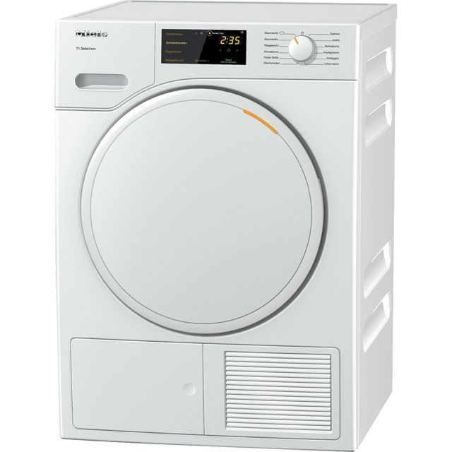 Miele T1 TSB143WP Wifi Connected 7Kg Heat Pump Tumble Dryer - White - A++ Rated - TSB143WP_WH - 1