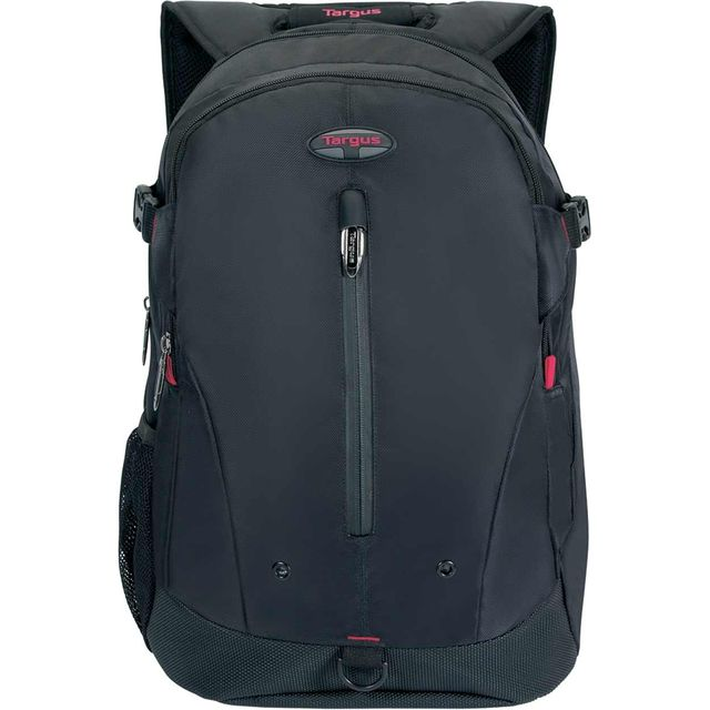 "Targus Terra Backpack for 16"" Laptop - Black / Red - TSB251EU - 1"