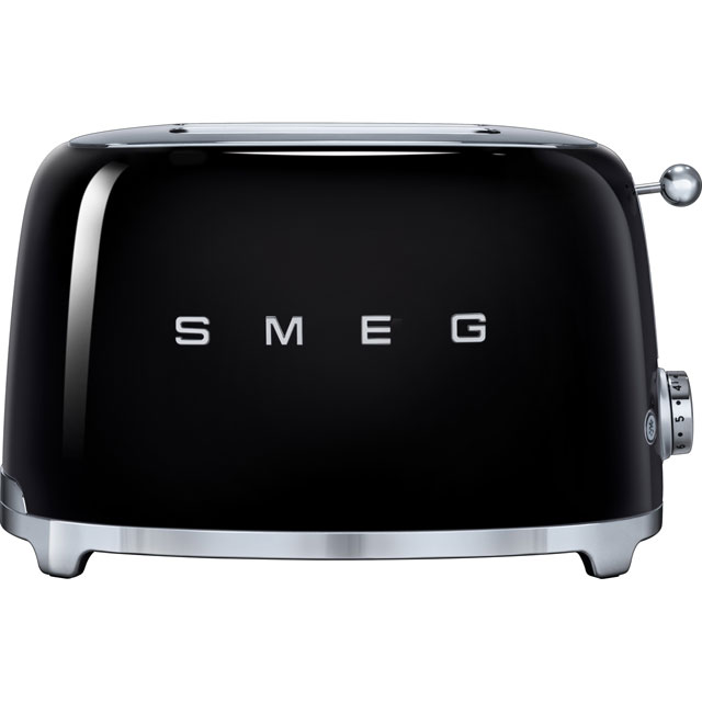 Smeg 50s Retro Toaster in Black