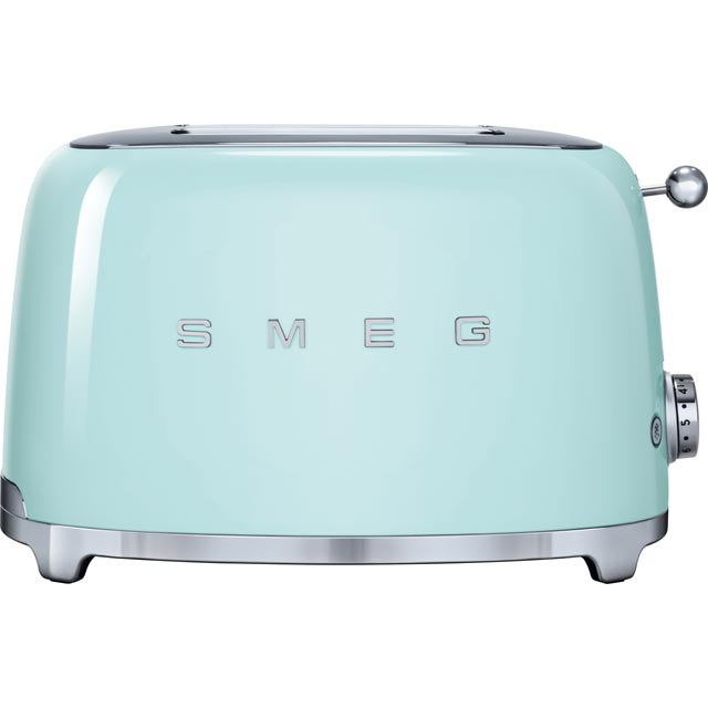 Smeg 50s Retro TSF01PGUK 2 Slice Toaster - Pastel Green