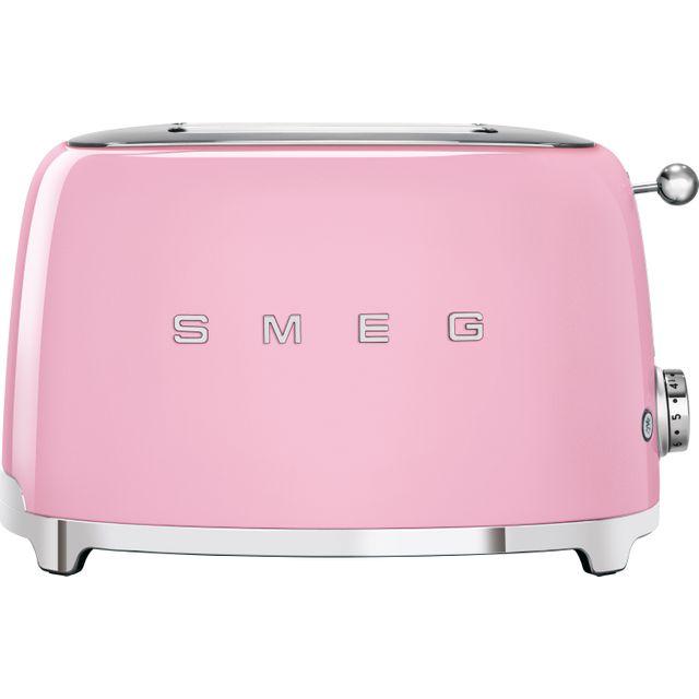 Smeg 50's Retro TSF01PKUK 2 Slice Toaster - Pink