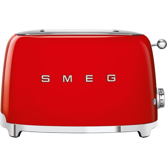 Smeg 50's Retro TSF01RDUK 2 Slice Toaster - Red