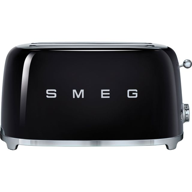 Smeg 50's Retro 4 Slice Toaster - Black