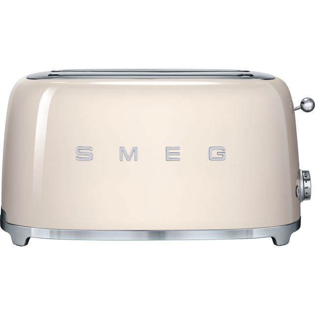 Smeg 50's Retro 4 Slice Toaster - Cream