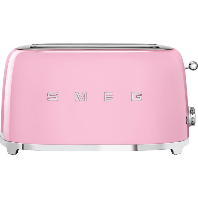 Smeg 50's Retro TSF02PKUK 4 Slice Toaster - Pink