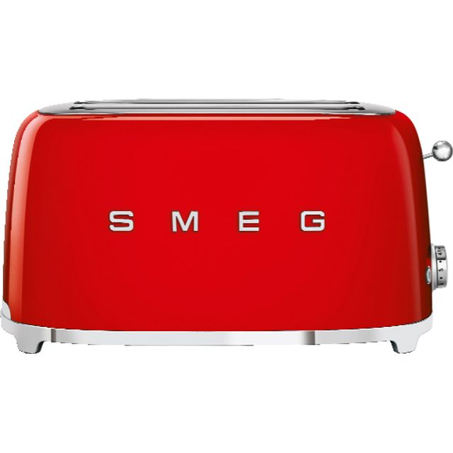 Smeg 50's Retro TSF02RDUK 4 Slice Toaster - Red