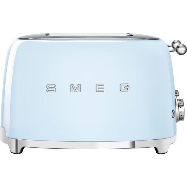 Smeg 50's Retro TSF03PBUK 4 Slice Toaster - Pastel Blue