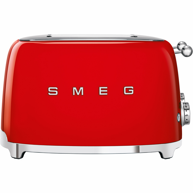 Smeg 50's Retro TSF03RDUK 4 Slice Toaster - Red