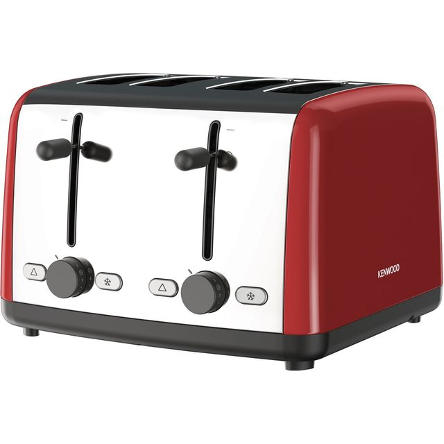 Kenwood Scene TTM480RD 4 Slice Toaster - Red