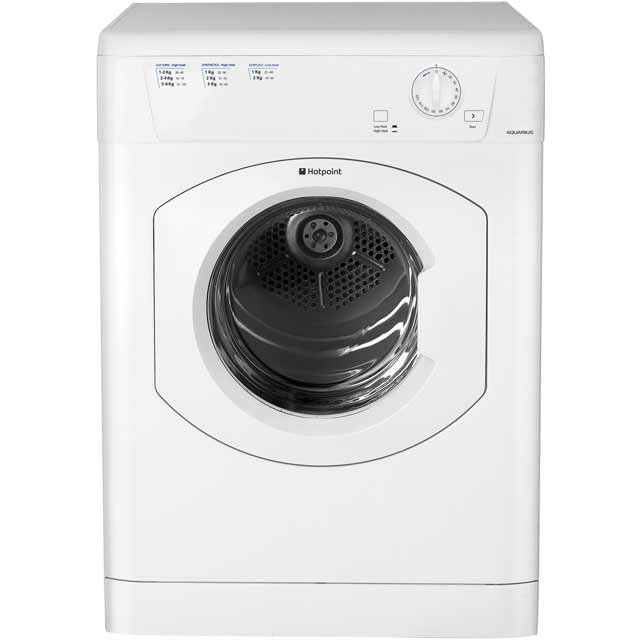 Hotpoint TVHM80CP Free Standing Vented Tumble Dryer in White