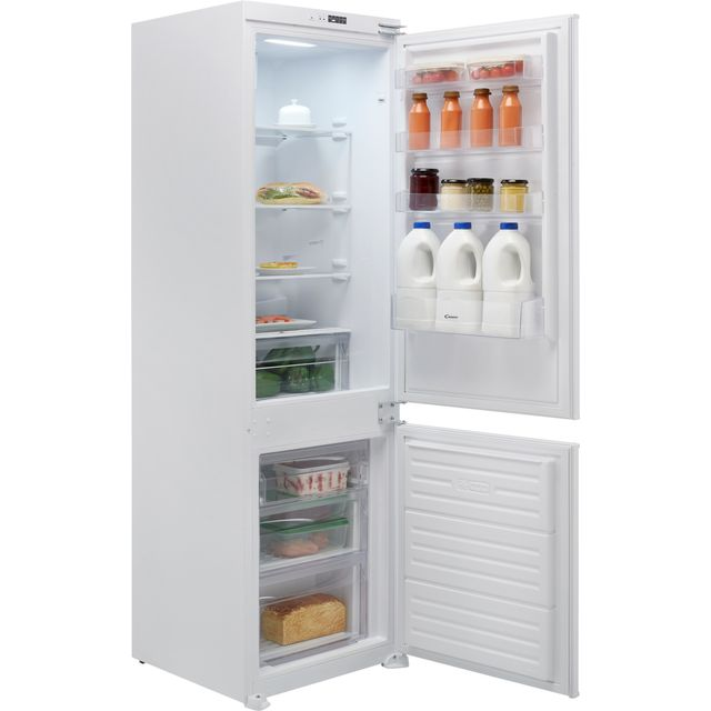 Candy BCBF174FTK/N Integrated 70/30 Frost Free Fridge Freezer with Sliding Door Fixing Kit - White - E Rated