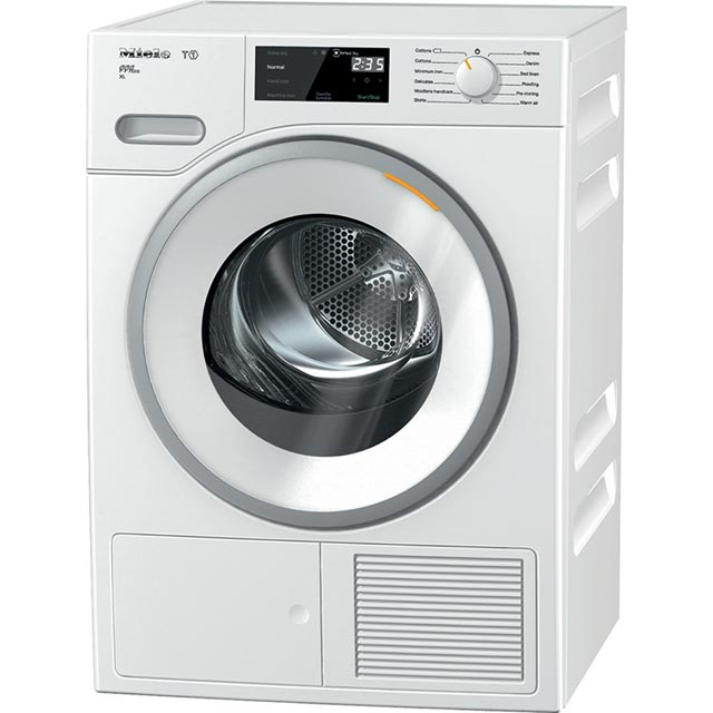 Miele T1 9Kg Heat Pump Tumble Dryer - White - A+++ Rated