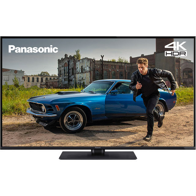 "Panasonic TX-49GX551B 49"" Smart 4K Ultra HD TV with HDR10 and Freeview Play - TX-49GX551B - 1"