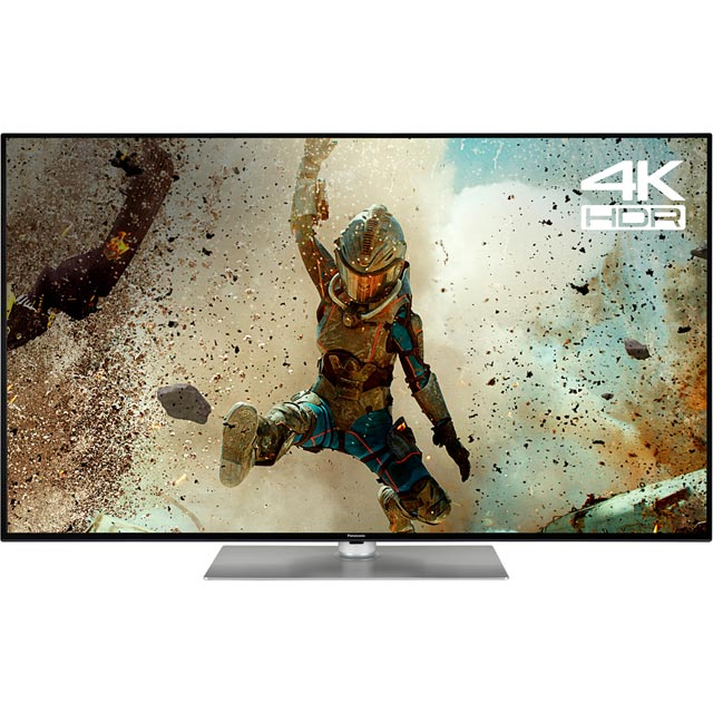 "Panasonic TX-65FX560B 65"" Smart 4K Ultra HD TV with HDR and Freeview Play - Dark Titanium - [A+ Rated] - TX-65FX560B - 1"