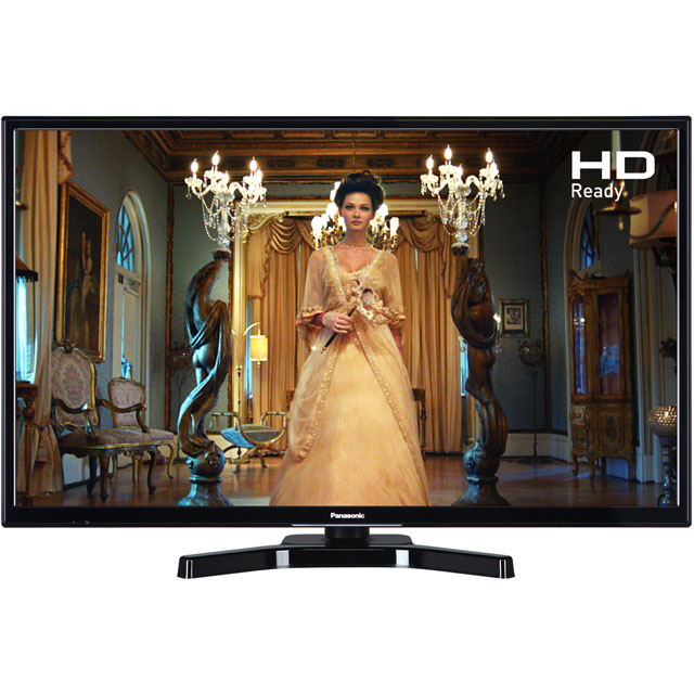 "Panasonic TX-24E302B 24"" TV - Black - TX-24E302B - 1"