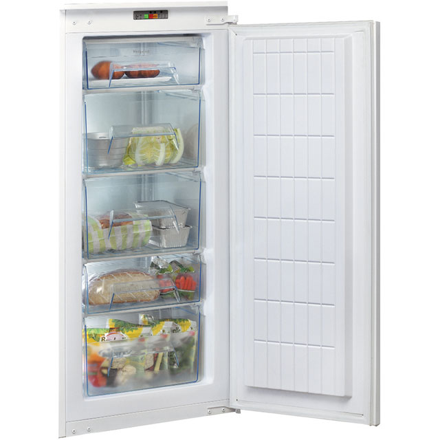Hotpoint U12A1D/H.1 Integrated Upright Freezer with Fixed Door Fixing Kit - A+ Rated