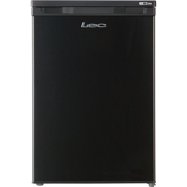 Lec U5511B.1 Under Counter Freezer - Black - A+ Rated