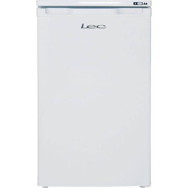 Lec U5511W.1 Under Counter Freezer - White - A+ Rated