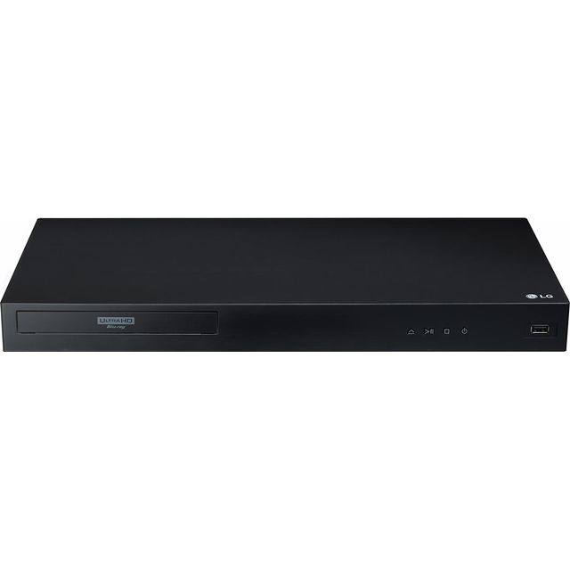 LG UBK80 4K Upscaling 4K Ultra HD Blu-ray Player with Not Applicable - Black - UBK80 - 1