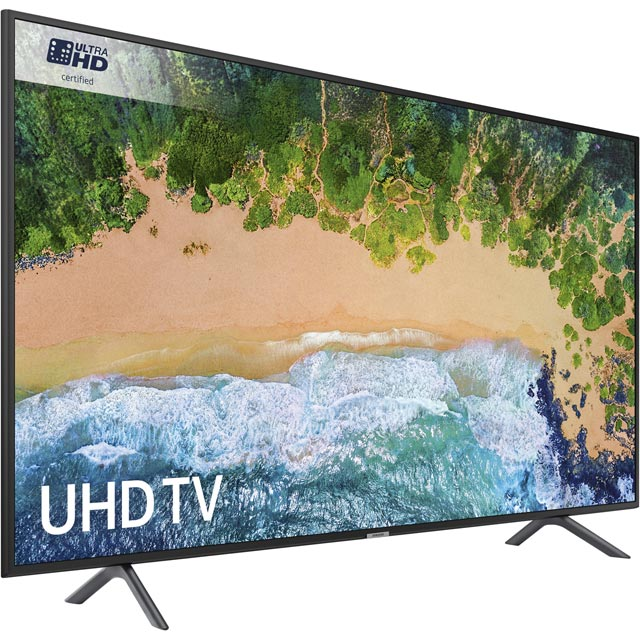 "Samsung UE40NU7120 40"" Smart 4K Ultra HD TV - Charcoal Black - UE40NU7120 - 3"