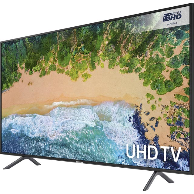 "Samsung UE40NU7120 40"" Smart 4K Ultra HD TV - Charcoal Black - UE40NU7120 - 5"